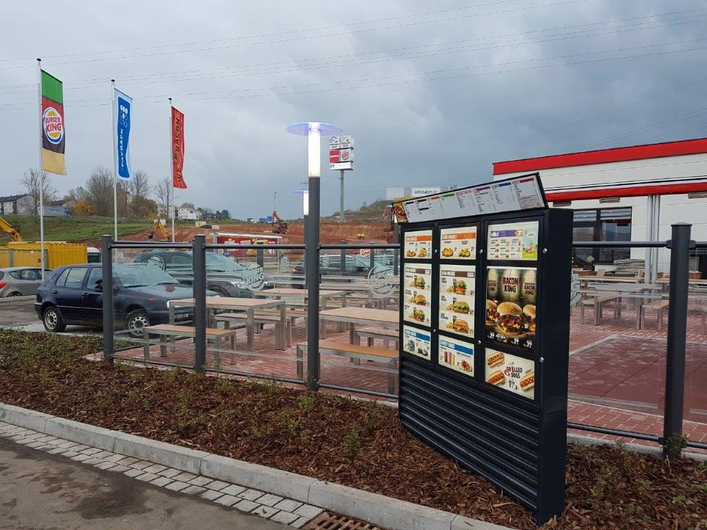 Referenzen 2017: Burger King Bad Hersfeld, Elektrik Vacha GmbH